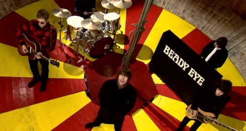 Beady Eye, The Roller, Charlie Lightening, yourmusictoday, music video