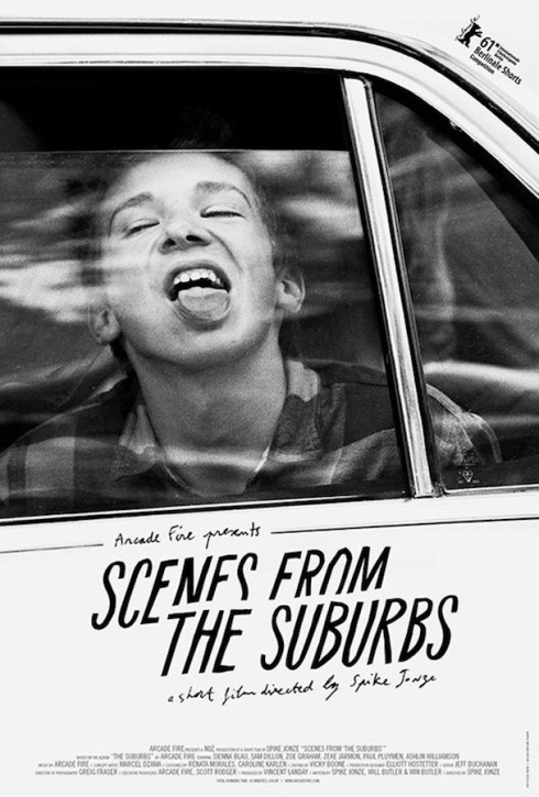 Arcade Fire, Scenes From The Suburbs, Short Film, The Suburbs, Spike Jonze, music video, your music today